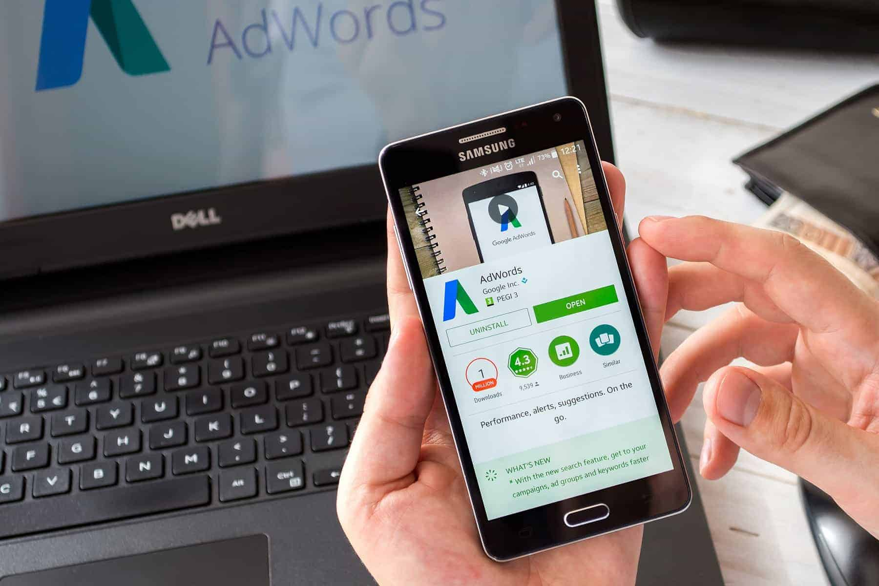 Promovare Google Adwords