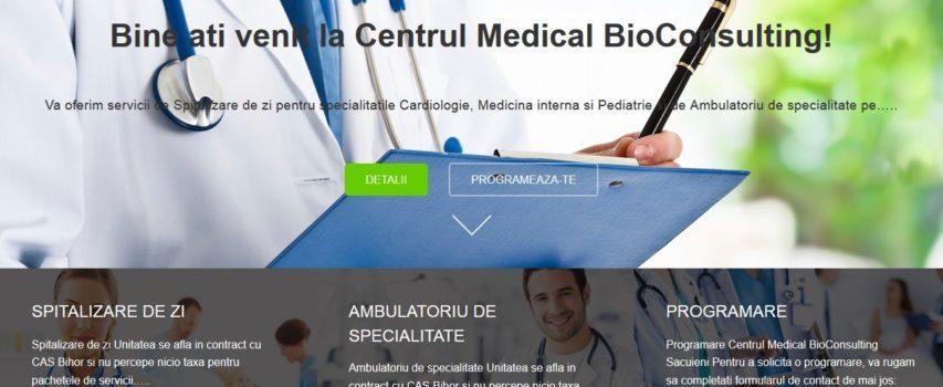 Bio-Consulting.ro – Site de prezentare Centru medical judetul Bihor