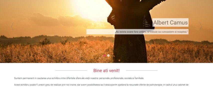 Psiholog-cabinet.ro – Site de prezentare Cabinet de psihologie
