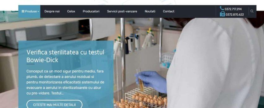 Estimamedical.ro – Site de prezentare distribuitor aparatura medicala si teste medicale