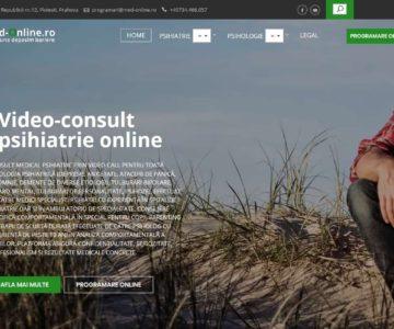Med-online.ro – Site terapie psihologica si psihiatrica online