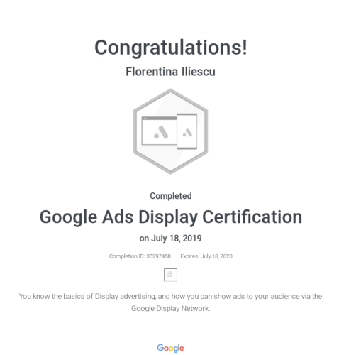 google-display-certificate