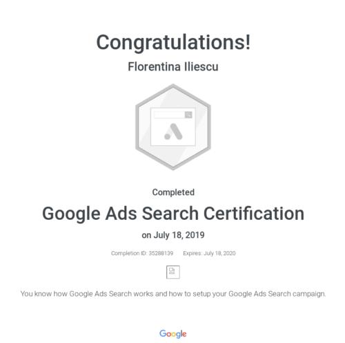 google-search-certificat