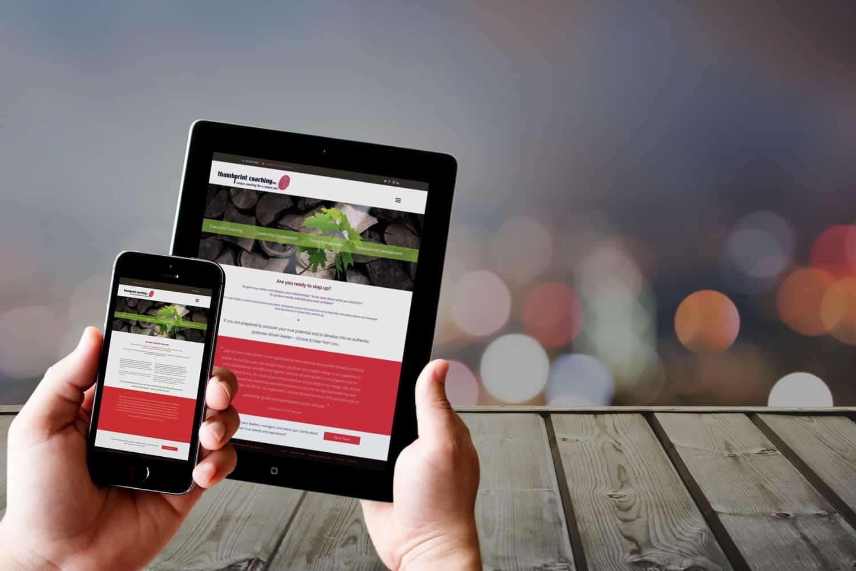 Un site care se pliaza pe toate terminalele mobile