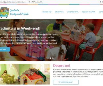 Gradinita Scooby and friends.ro – Site prezentare gradinita