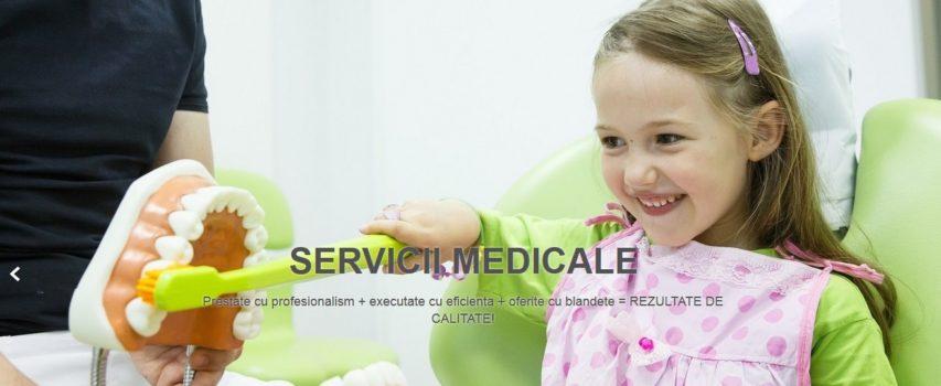 SironaClinic.ro – Site de prezentare clinica stomatologica