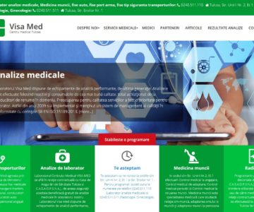 Visamed.ro – Site de prezentare Clinica Medicala