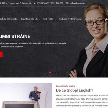 Ecurs.ro – Site de prezentare companie cursuri
