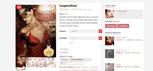 Design Online Shop - magazin online la cheie WooCommerce Florentinailiescu.com